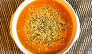 supa crema de dovleac cu ghimbir