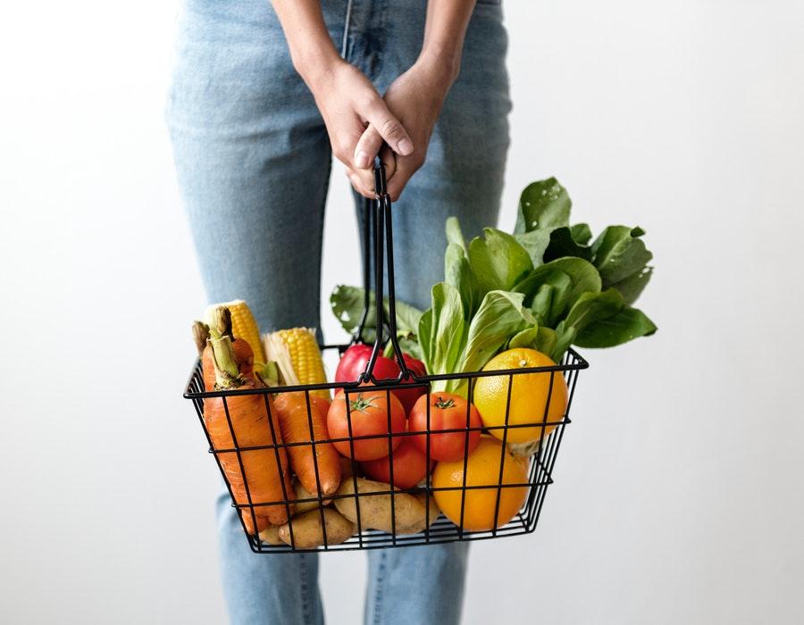 la cumparaturi de alimente
